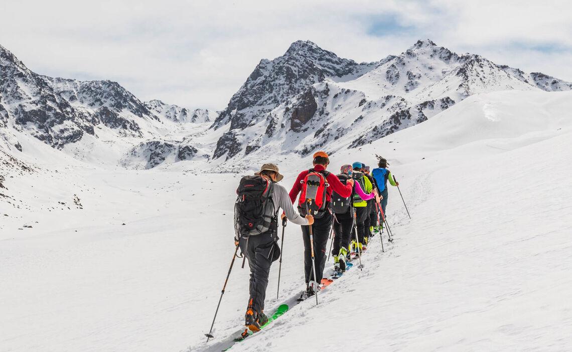 Skitouren In Kirgisien Organisiert