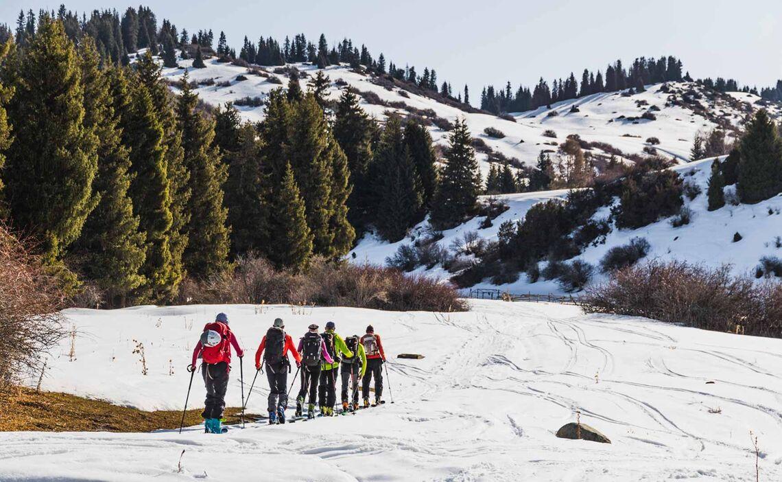 Skitouren In Kirgisien