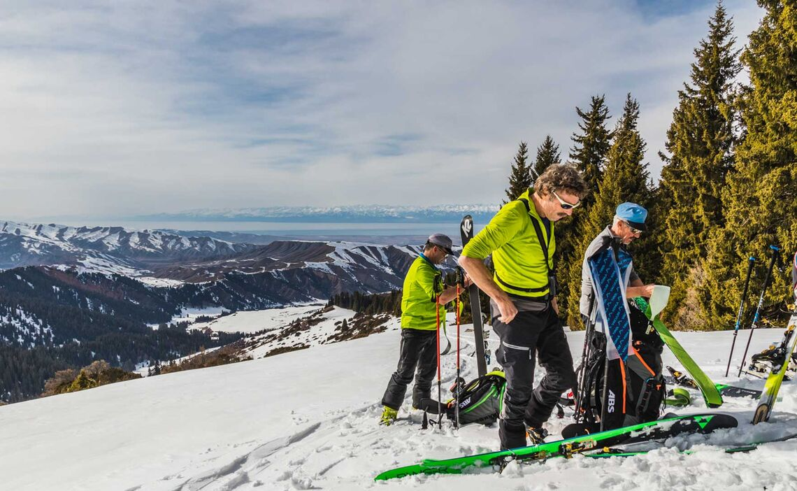 Skitouren In Kyrgyzstan