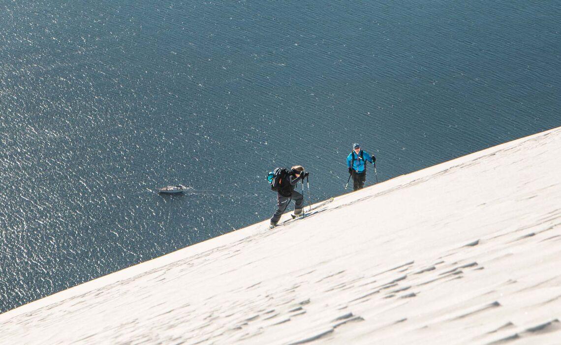 Skitouren In Lyngen Mit Dem Schiff