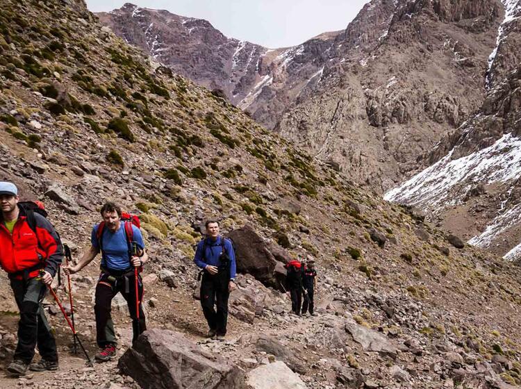 Skitouren In Marokko Rund Um Die Toubkal Huette