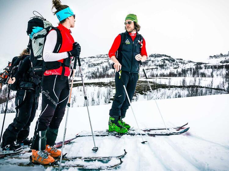 Skitouren In Norwegen Mit Bergfu Hrer