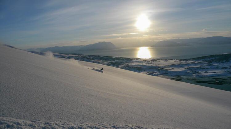 Skitouren In Norwegen Mit Bergfuehrer Christoph Sokoll