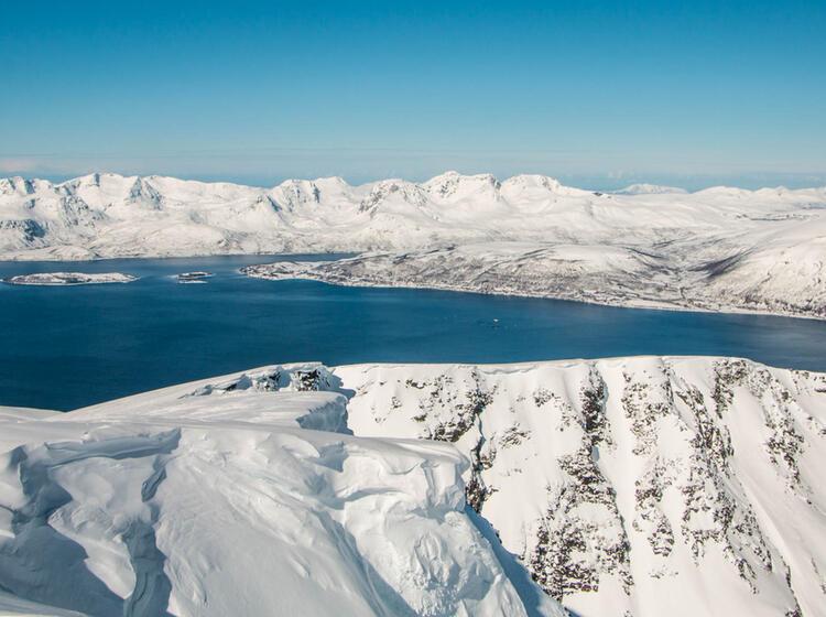 Skitouren In Norwegen Vom Schiff Aus