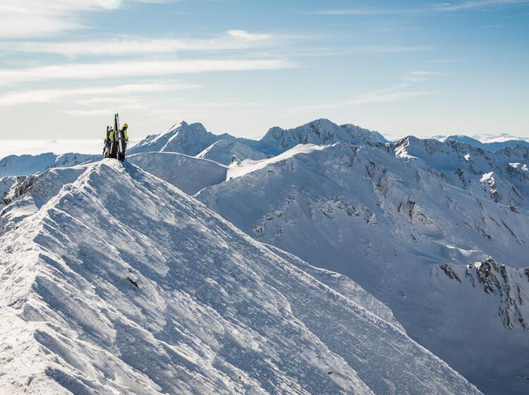 Skitouren In Rumaenien In Den Karpaten