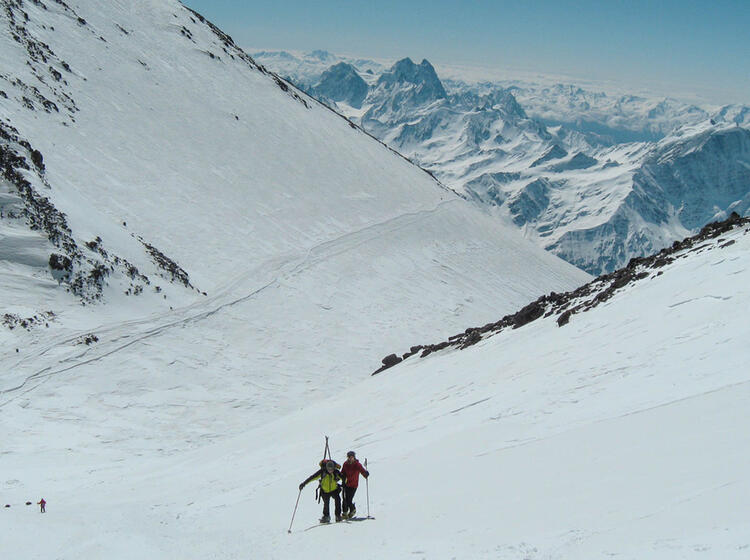 Skitouren In Russland Am Elbrus