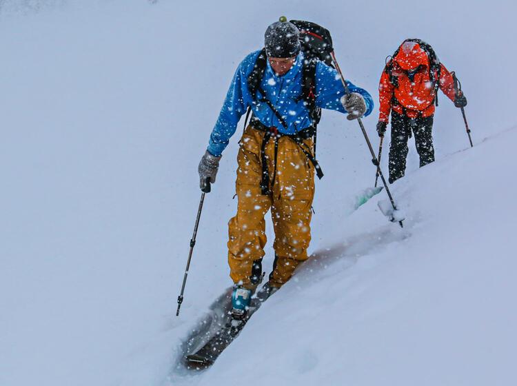Skitouren In Sibirien Altai Gebirge