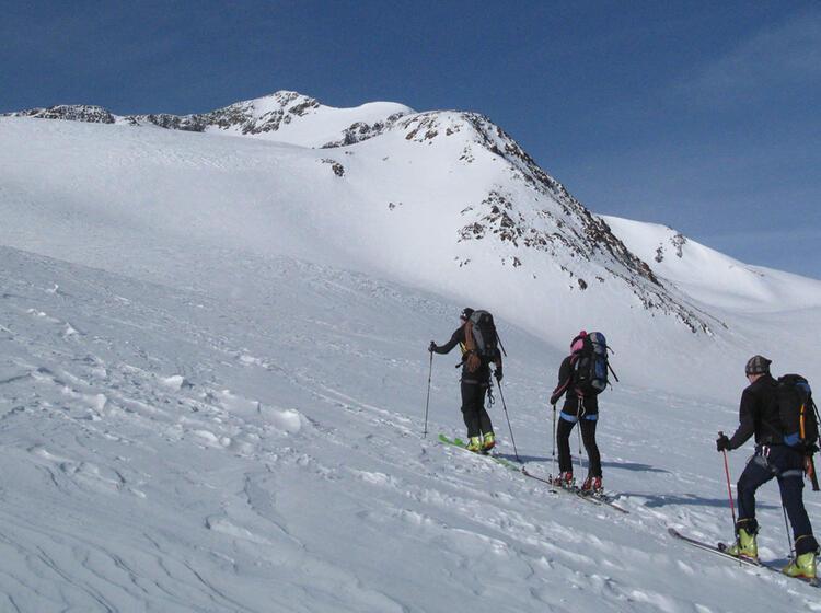 Skitouren In Suedtirol Mit Bergfuehrer Der Alpinschule