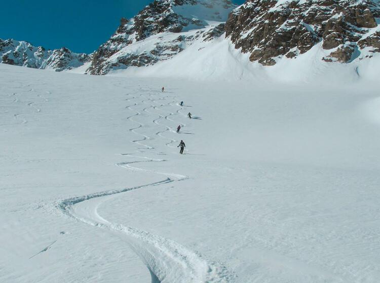 Skitouren In Suedtirol Mit Bergfuehrer Von Der Sesvenna Huette Aus