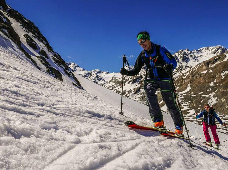 Skitouren In Suedtirol Von Der Zufallhuette Auf Den Cevedale