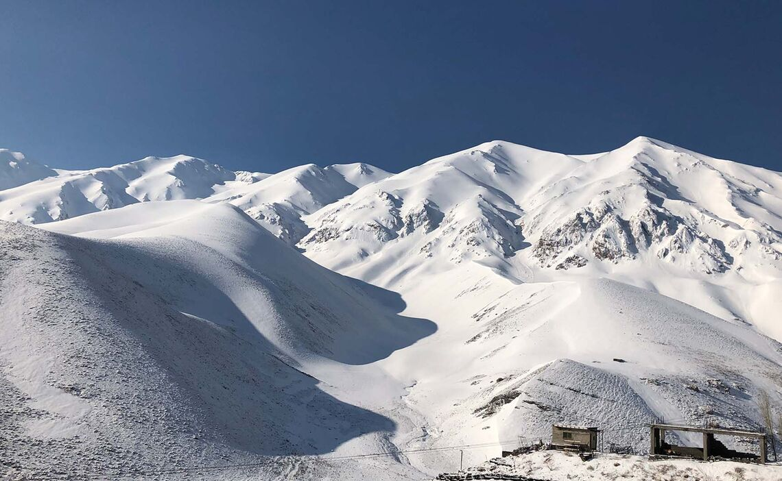 Skitouren Iran Am Damavand