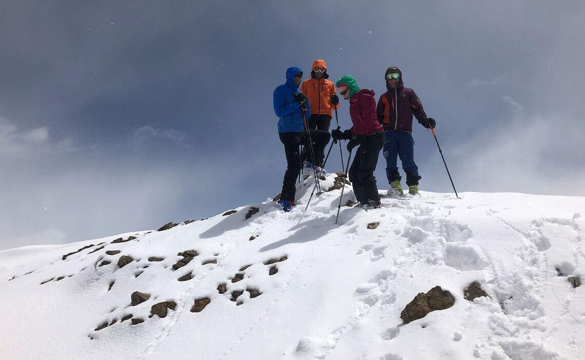 Skitouren Iran Am Gipfel Des Damavand