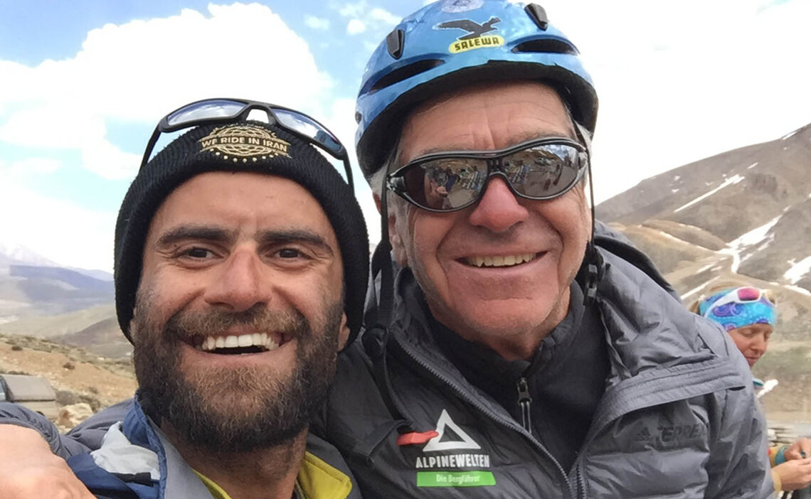 Skitouren Iran Bergfuehrer