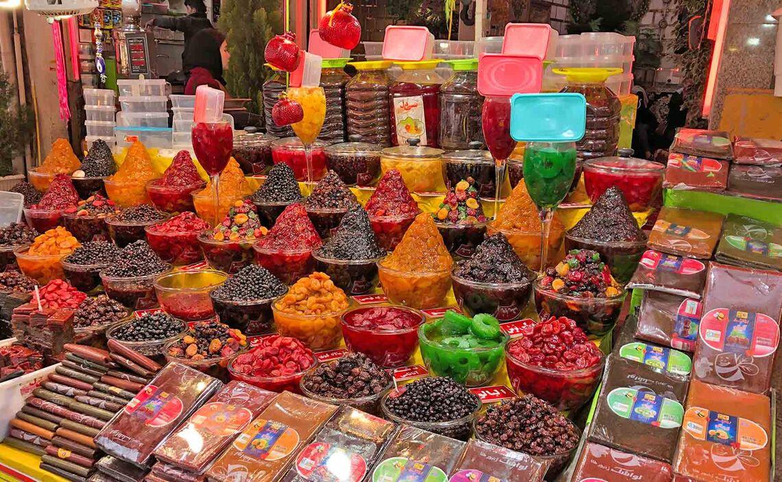 Skitouren Iran Candyshop Teheran