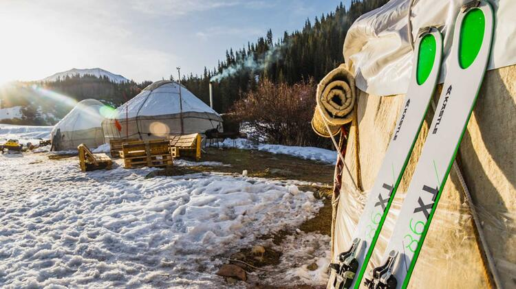 Skitouren Jurten In Kirgistan