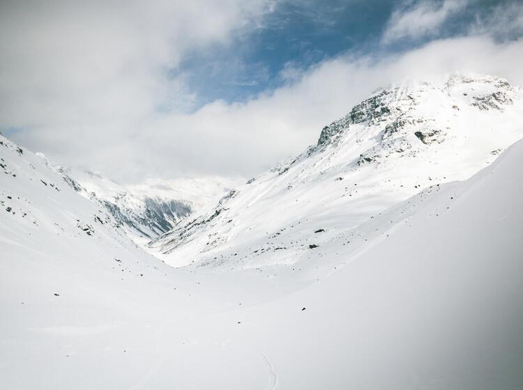 Skitouren Kurs Auf Der Jamtalhuette