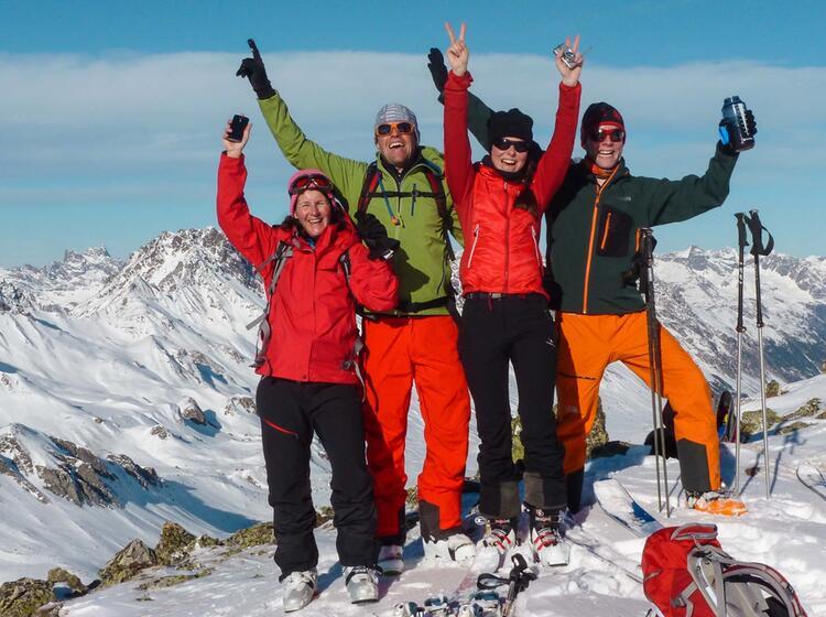 Skitouren Kurs U Ber Silvester Auf Der Heidelberger Hu Tte