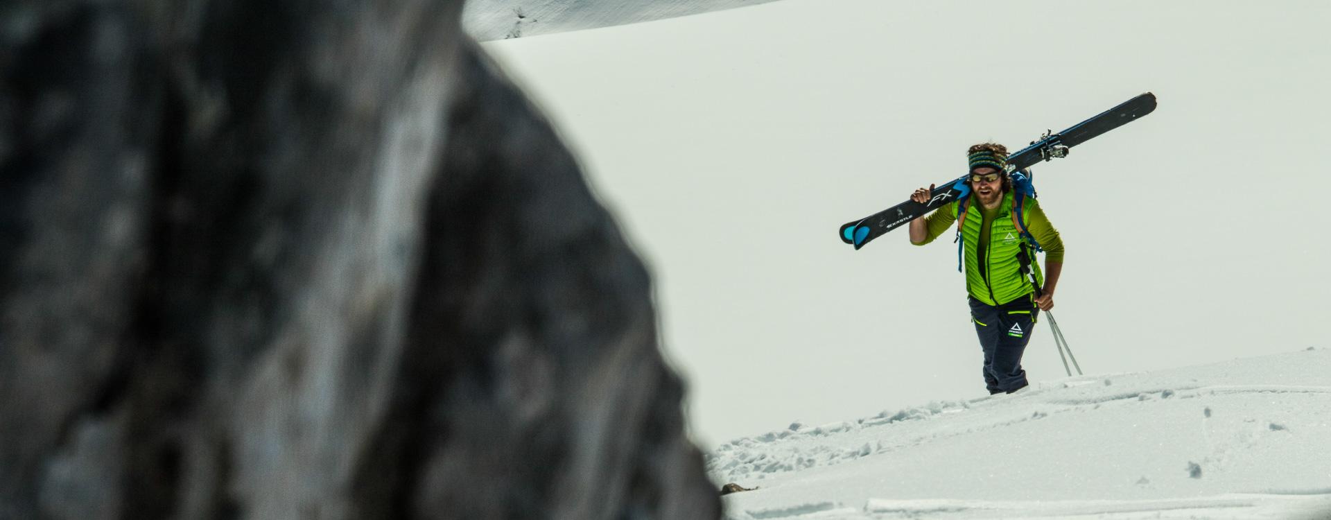 Skitouren Kurse fuer Einsteiger