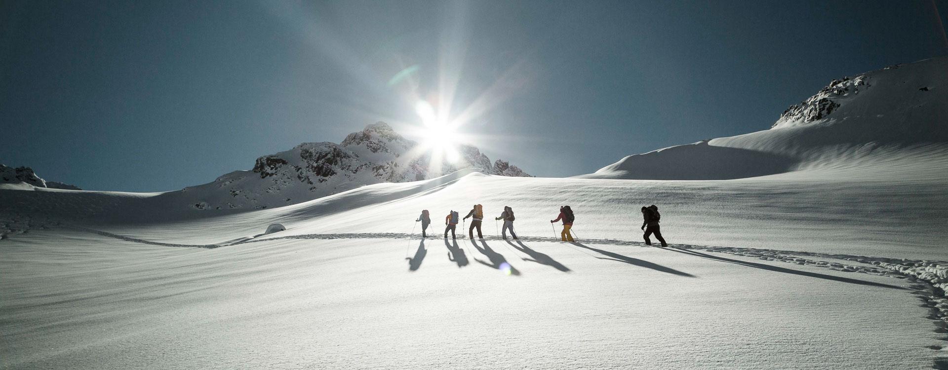 Skitouren Kurse in der Silvretta am Piz Buin