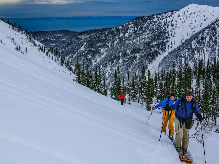 Skitouren Mit Ausblick Auf Dne Baikalsee