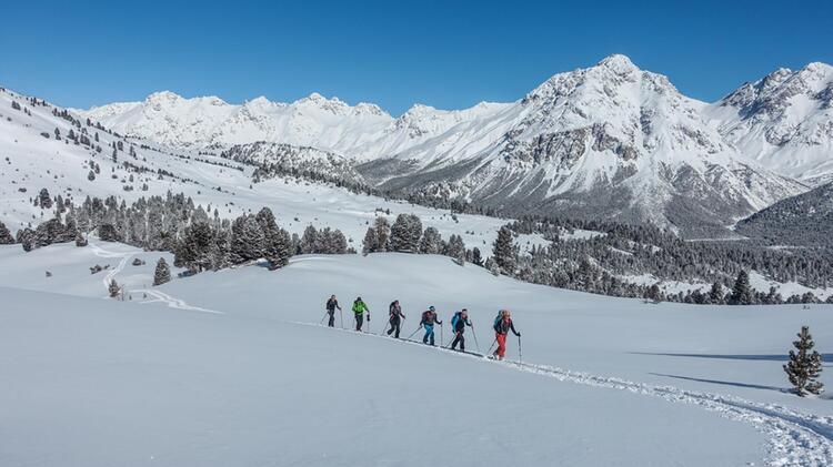 Skitouren Mit Bergfuehrer Im Muenstertal