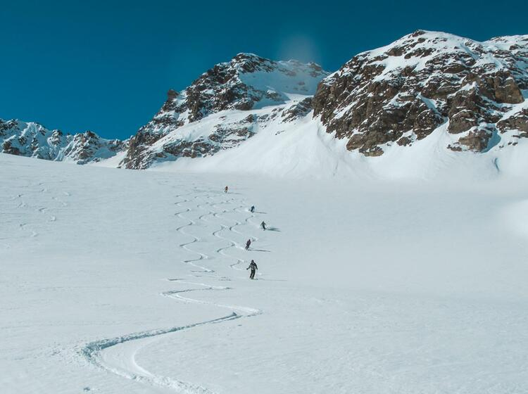 Skitouren Mit Bergfuehrer In Der Silvretta Durchquerung
