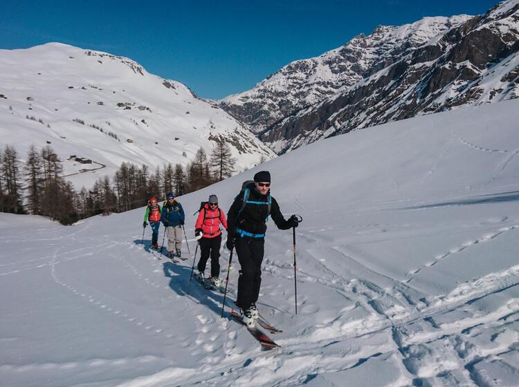 Skitouren Mit Bergfuehrer In Livigno