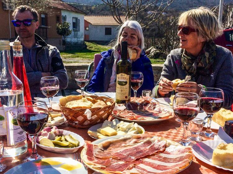Skitouren Montenegro Gefuehrt