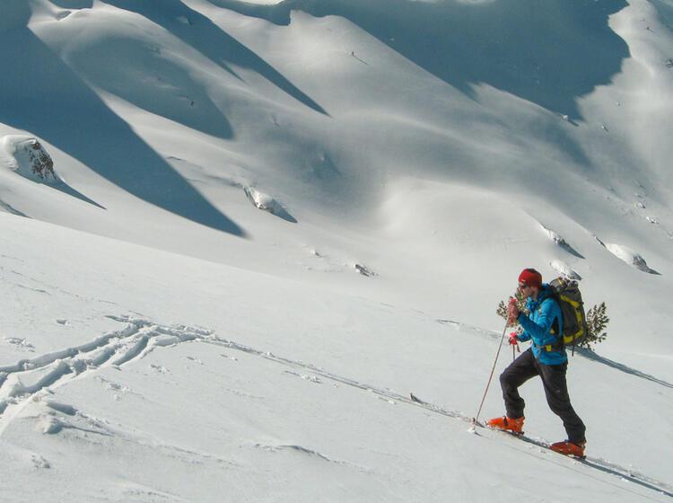 Skitouren Montenegro Reise