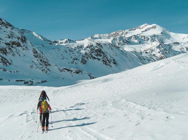 Skitouren Ortler Zufallhuette