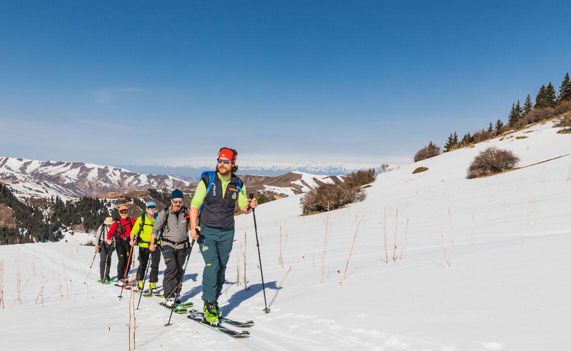Skitouren Reise Kirgistan