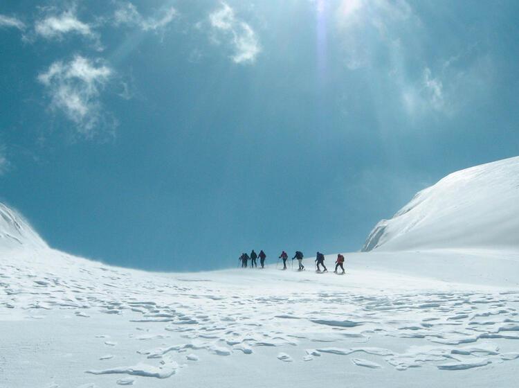 Skitouren Reise Mit Bergfuehrer Nach Montenegro