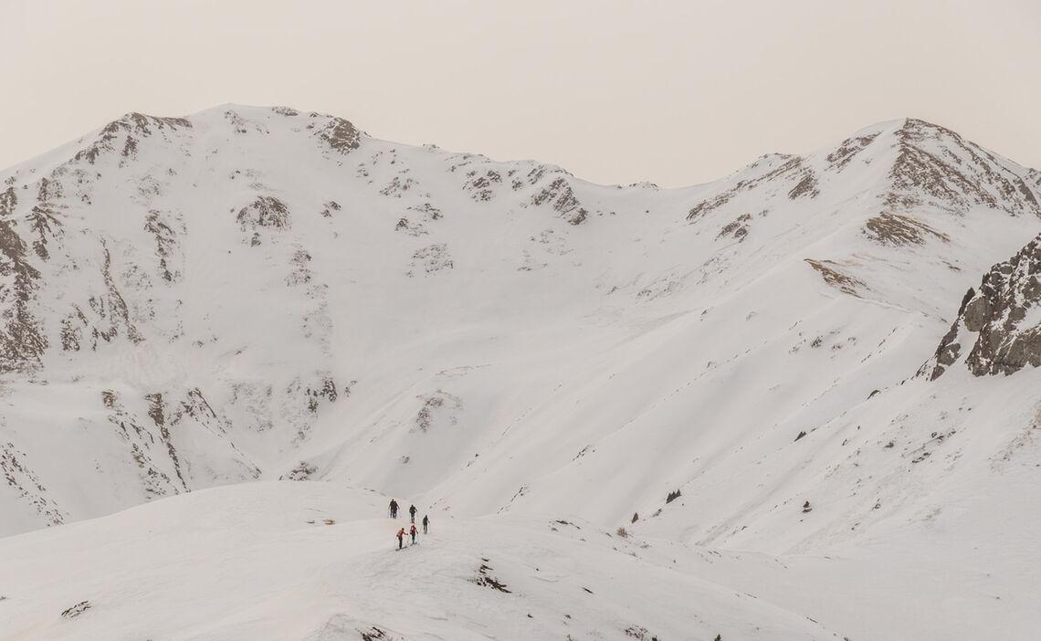 Skitouren Reise Nach Kirgistan Jergalan