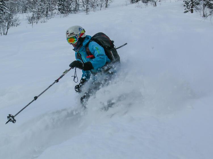 Skitouren Reise Nach Sibirien Mit Bergfuehrer