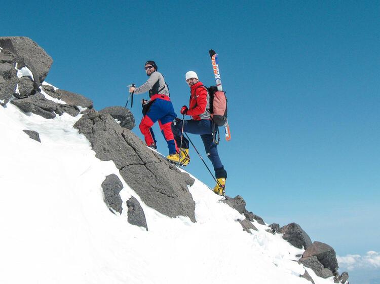 Skitouren Reise Russland Elbrus