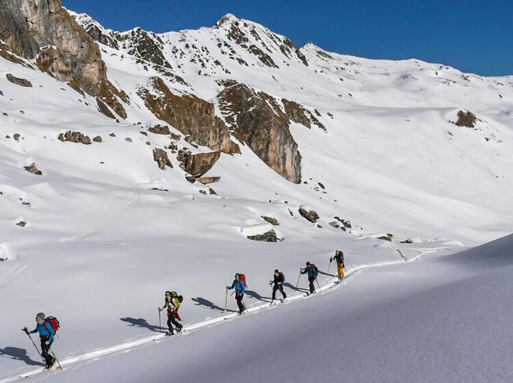 Skitouren Rund Um Das Zandertal Im Vinschgau