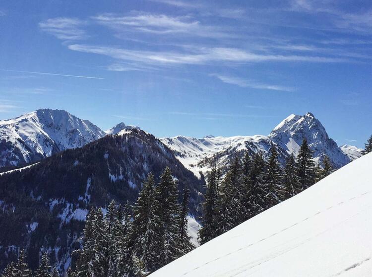 Skitouren Rund Um Die Oberland Huette In Kitzbuehl
