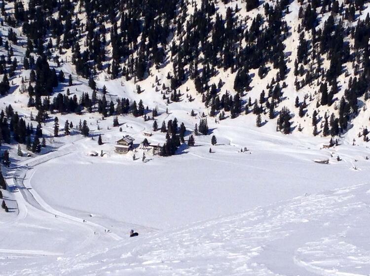 Skitouren Rund Um Die Oberseehu Tte Am Stallersattel