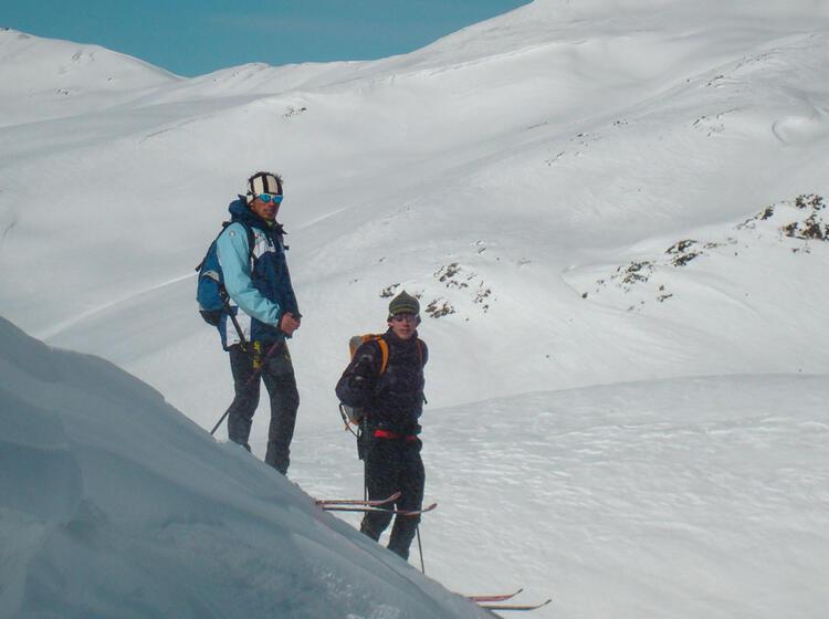 Skitouren Rund Um Die Sesvenna Huette In Suedtirol