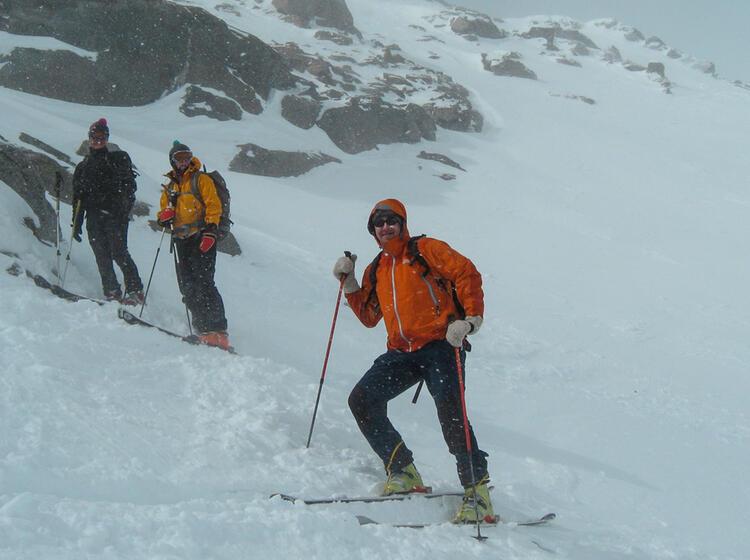 Skitouren Rund Um Die Sesvenna Huette