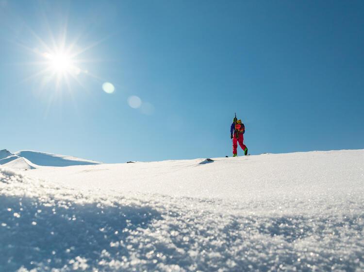 Skitouren Rund Um Longyearbyen Auf Spitzbergen