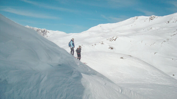 Skitouren Sesvennahu Tte