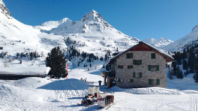 Skitouren Stu Tzpunkt Oberseehu Tte Am Staller Sattel