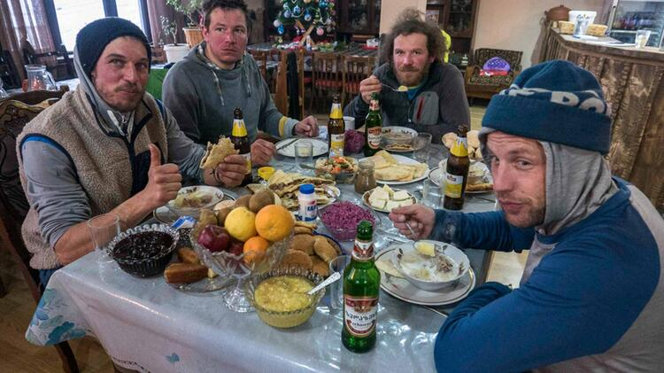 Skitouren Swanetien Georgien 34