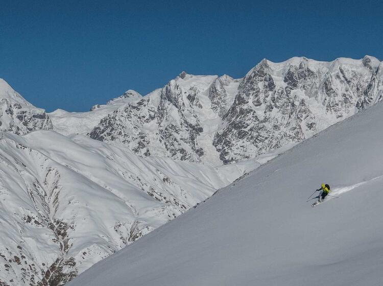 Skitouren Swanetien Georgien 36