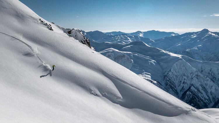 Skitouren Swanetien Georgien 8
