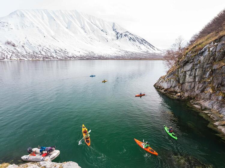 Skitouren Und Kajak In Kamtschatka