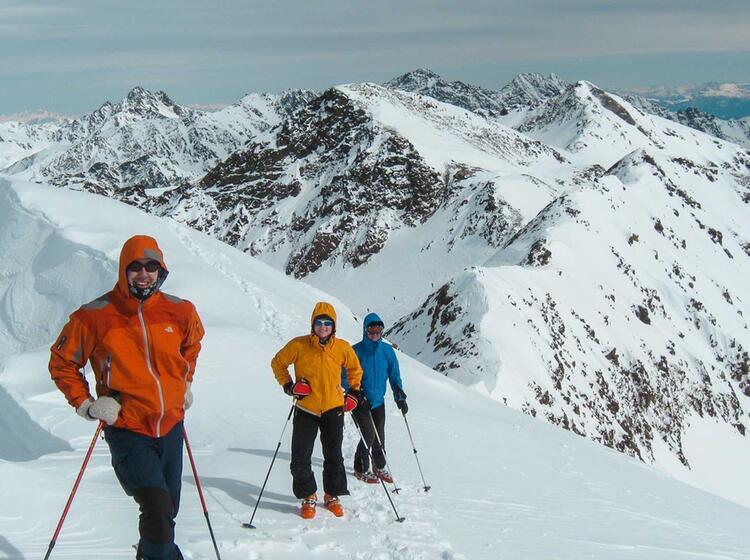 Skitouren Und Schneeschuhtouren Am Cevedale
