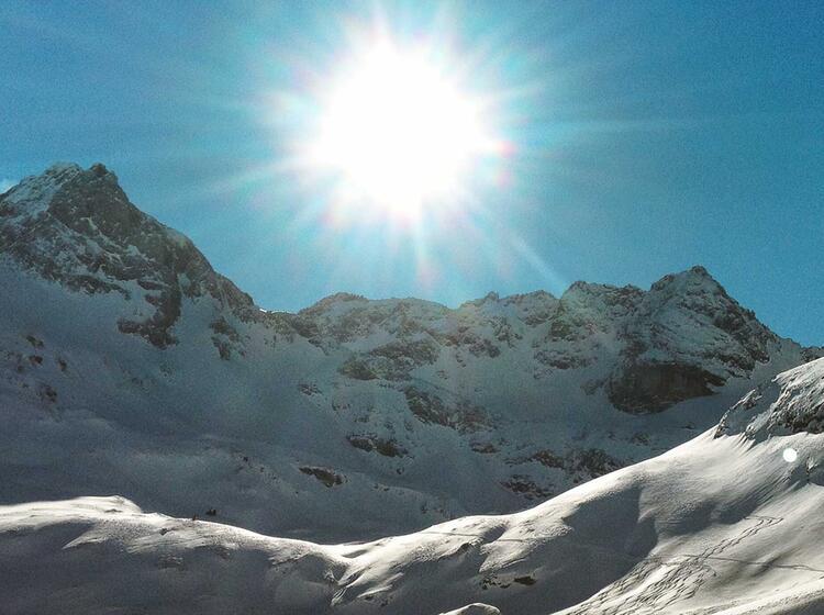 Skitouren Und Schneeschuhtouren Im Naturpark Der Fanes Alm