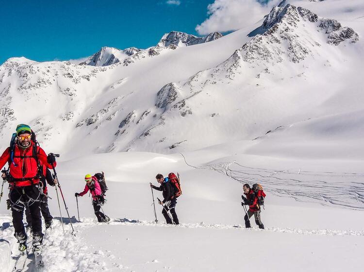 Skitouren Und Skihochtouren Zur Wildspitze Auf Der Venter Runde